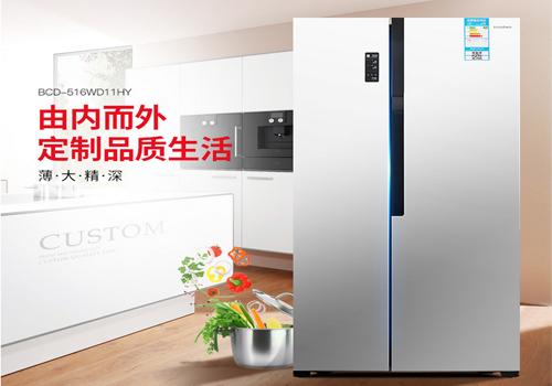 节能家用 商用 对开门冰箱