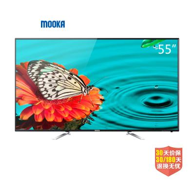 4K安卓智能网络纤薄窄边框高清LED液晶电视